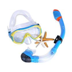 Маска для плавания детская с трубкой модели  JSDS-CH
