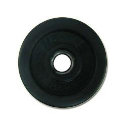 Диск штанги металлический обрезиненный 2 кг SOD-20
