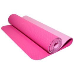 Коврик для занятий фитнесом и йогой 0,6 см TPE-06P
