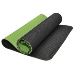 Коврик для занятий фитнесом и йогой TJD-FO066-G