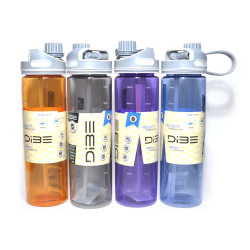 Бутылка для воды спортивная 750 мл DB-1259