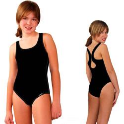 Купальник для бассейна детский черного цвета LS-33-90
